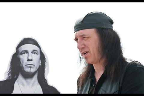 """(L-R) Musician Robb Reiner of Canadian rock band """"Anvil"""" at the photo call of """"Anvil"""" at the 62nd Cannes Film Festival in Cannes"""
